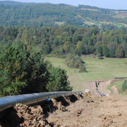 Budowa gazociągu relacji Hermanowice - Strachocina