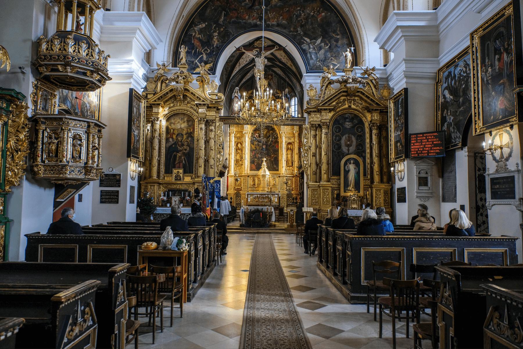 Barbórka - kościół