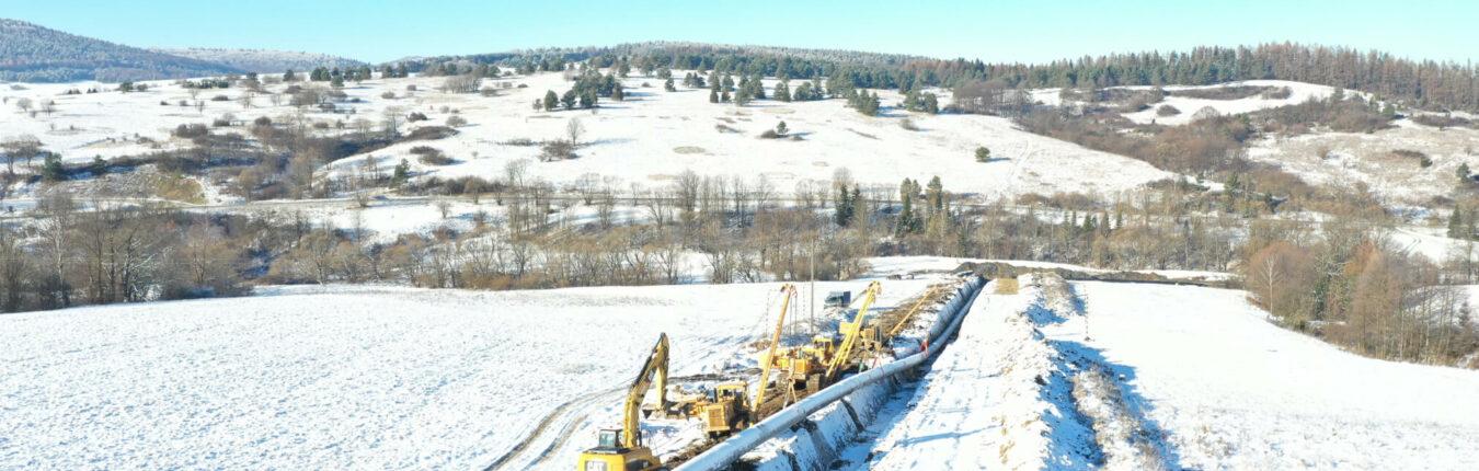 PGNiG - Realizacja - Budowa odcinka gazociągu relacji Strachocina — Granica RP