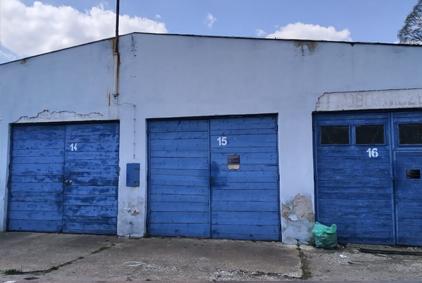 Krosno Naftowa garaże