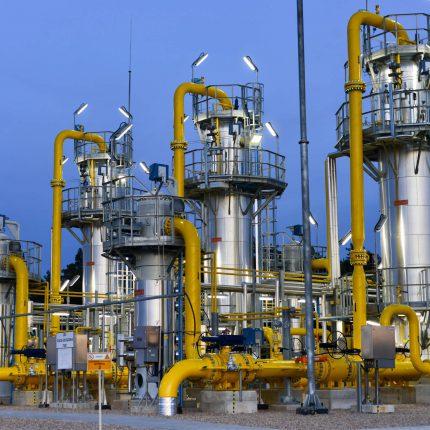 Budowa instalacji osuszania gazu Mikanowo
