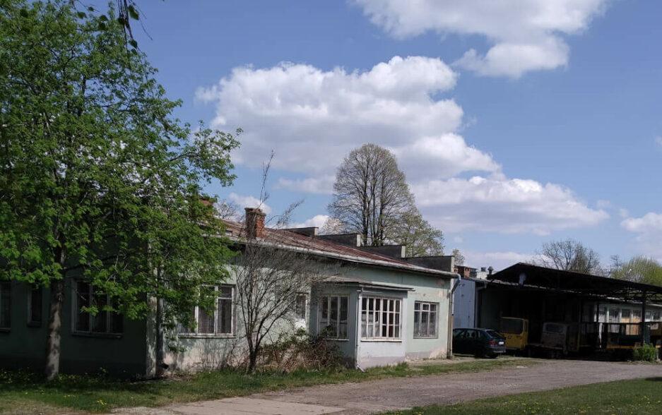 """Krosno Naftowa (""""garaże"""")"""