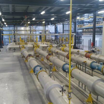 PGNiG - Realizacja - Budowa infrastruktury gazowej w EC Żerań