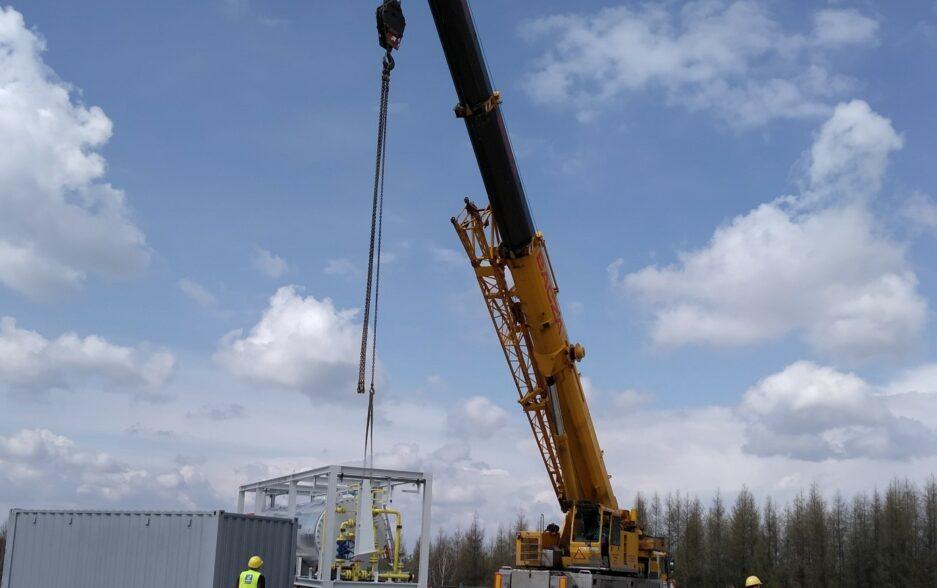 Unikatowy mobilny ośrodek wydobywczy