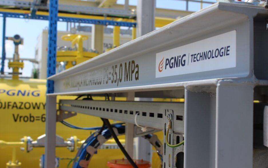 Pierwsza w Polsce mobilna instalacja eksploatująca gaz ziemny!